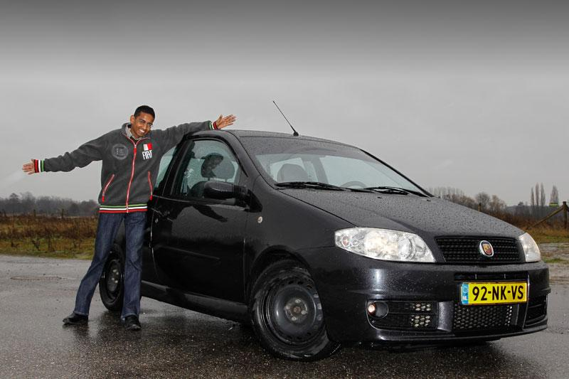 Klokje rond Fiat Punto