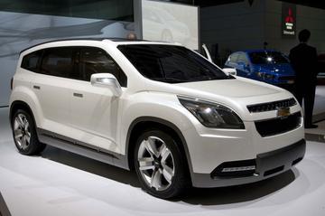 Chevrolet Orlando iets concreter