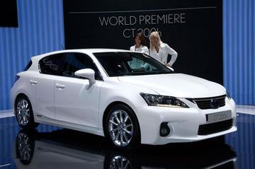 Lexus CT 200h ook voor VS