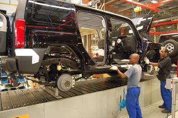 Laatste productieronde voor Hummer H3