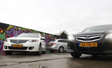 Honda Accord Tourer - Subaru Legacy Touring Wagon - Toyota Avensis Wagon