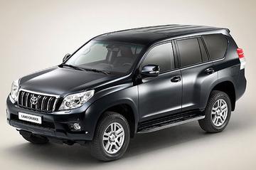 Toyota Land Cruiser in 't nieuw
