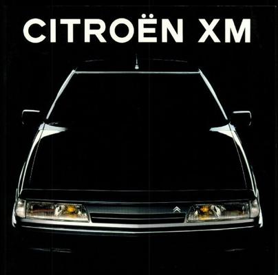Citroën XM brochure