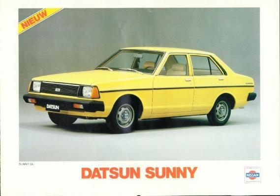 Datsun Sunny brochure