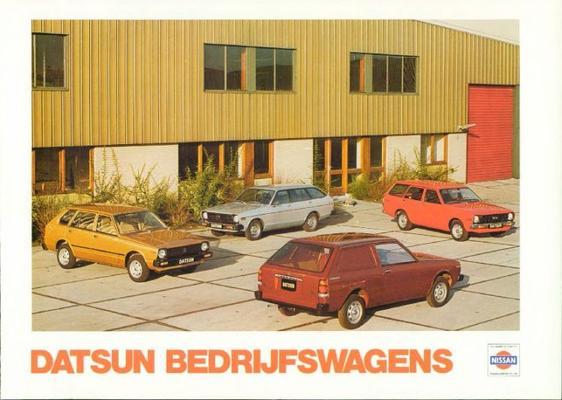 Datsun stationwagons brochure