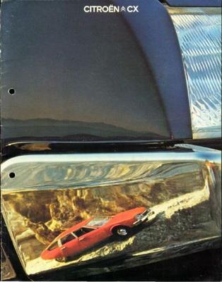 Brochure Citroën CX 1978