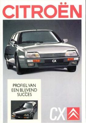 Brochure Citroën CX 1988