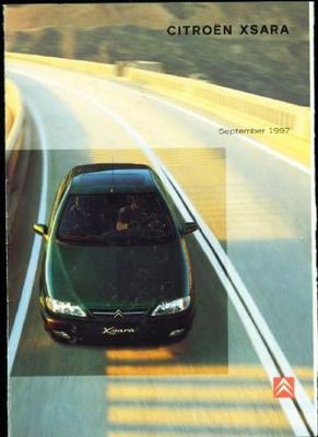 Brochure Citroën Xsara 1997