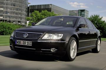 Sommige VW's Phaeton bereikbaarder