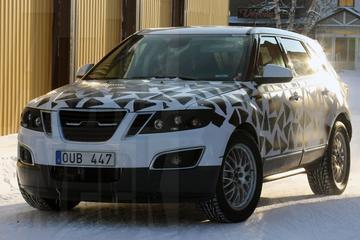 Close-up Saab 9-4X