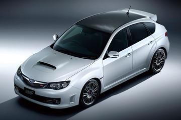 Subaru Impreza Carbon: kuur van koolstofvezel