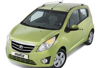 Daewoo Matiz Creative voorbode Chevrolet Spark