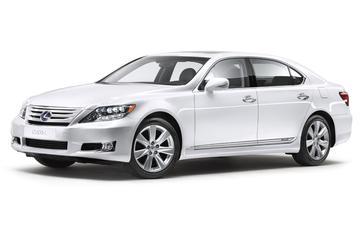 Details facelift Lexus LS 600h