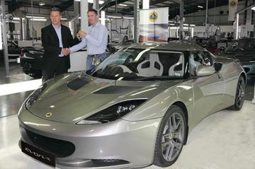 Eerste Lotus Evora afgeleverd