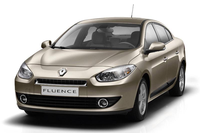 Renault Fluence is Mégane sedan