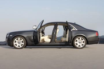 Rolls-Royce Ghost-familie over drie jaar compleet