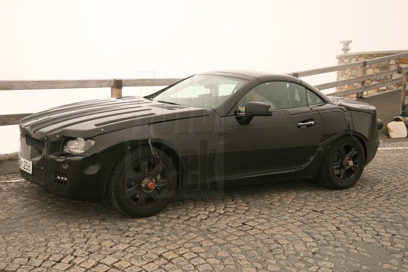 Mercedes maakt haast met nieuwe SLK