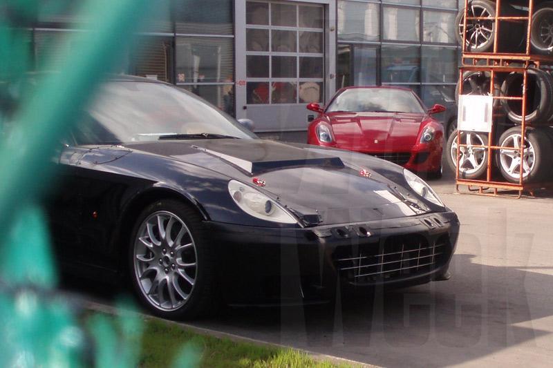 Ferrari 612 Scaglietti: plaats voor schoon hart