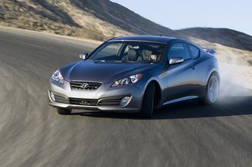 Doek valt voor Hyundai Genesis Coupé