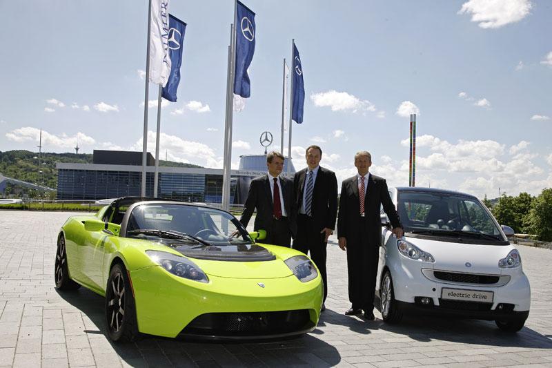 Daimler neemt aandeel in Tesla | Autonieuws - AutoWeek.nl Aandeel Daimler