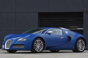 Bugatti Veyron Bleu Centenaire: gewoon 1.001 pk
