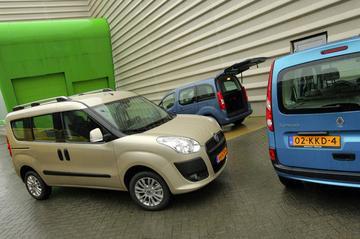 Fiat Doblò - Citroën Berlingo Multispace - Renault Kangoo Family