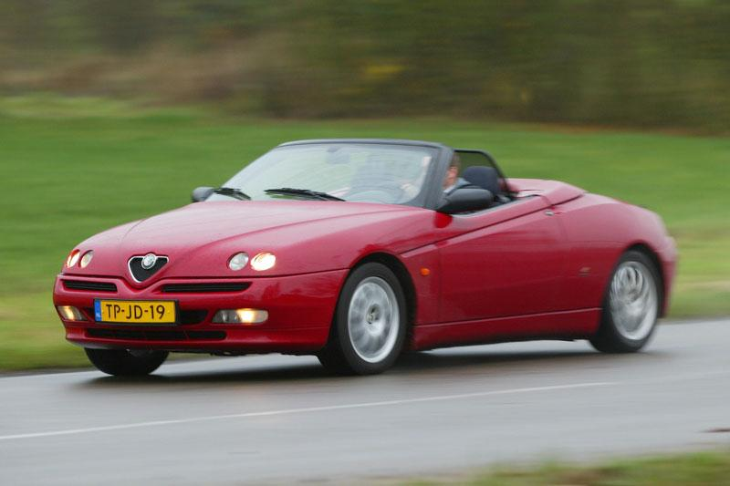 Klokje rond Alfa Romeo Spider