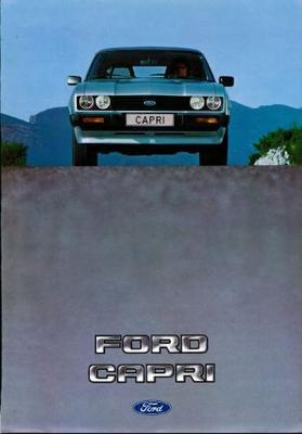 Ford Capri L, Gl, S, Ghia, 2.8 Injection