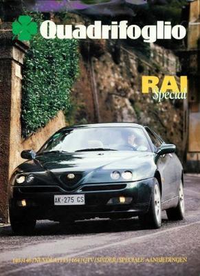 Alfa Romeo Quadrifoglio 145, 146, Nuvola, 164, Gtv