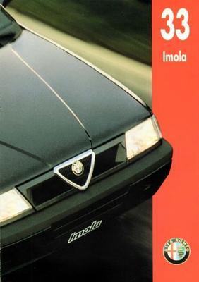 Alfa Romeo Alfa 33 Imola 1.4ie,1.4iel