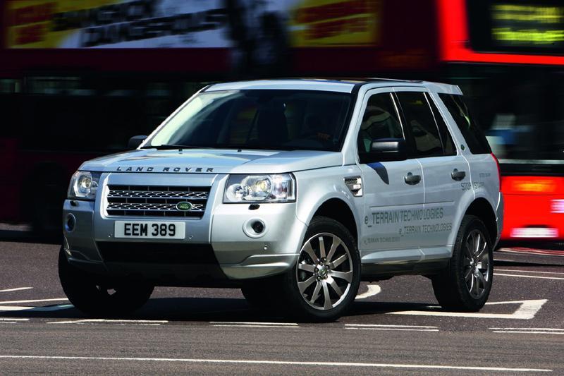 Ook Land Rover komt met Start/Stop systeem