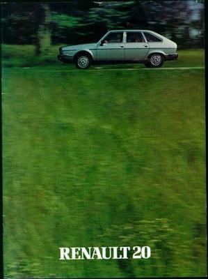 Renault  20 Ts,tx,gtd,tl