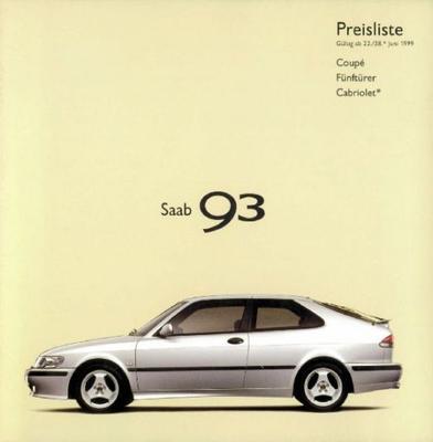 Saab 93 2.0i,2.0t,2.0 Turbo,2.0 Tid,coupe Se,cabri