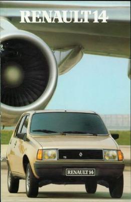Renault 14 Ts,tl,gtl,