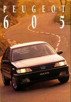Peugeot 605 Sli,sldtsrti,srdt,srd.2.5,sv3.0,svdt 2
