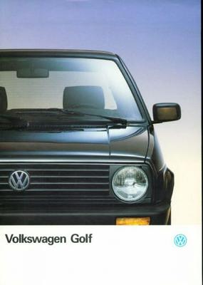 Volkswagen Golf Cl,gl,gt,gtd
