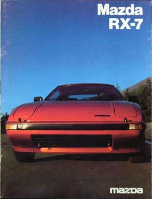 Mazda Rx 7 Dx,sdx