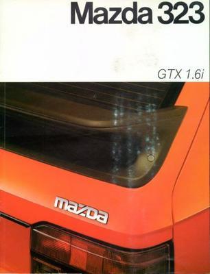 Mazda  323 Gtx 1.6i