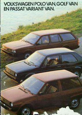 Volkswagen Polo Van,golf Van,passat Variant Van,pa