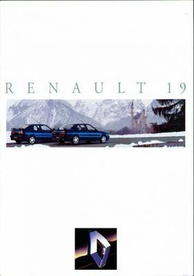 Renault Cabriolet 19 Rt,rn,rl 1.4,16v