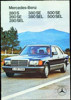 Mercedes-benz  280 S,280 Se,280 Sel,380 Se,380 Sel