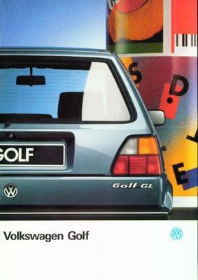 Volkswagen Golf Cl,gl,gtd,gt