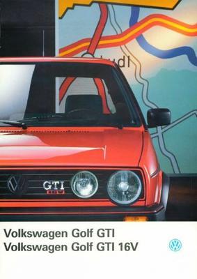 Volkswagen Golf Gti,gti 16v