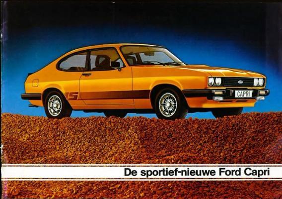 Ford Capri L, Gl, S, Ghia