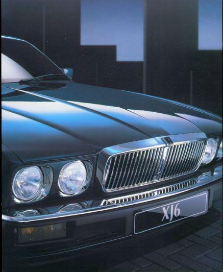 Jaguar Xj Lease: Brochure Jaguar XJ (1993)