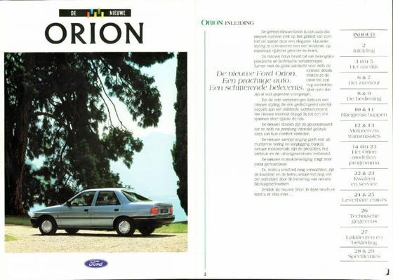 Ford Orion Ghia Si,clx,gl,cl