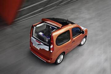 Glaspaleissie: Renault Kangoo Bebop