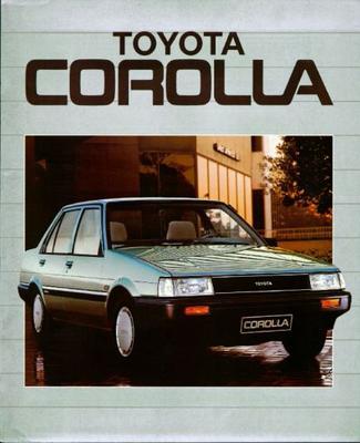 Toyota Corolla Sedan,liftback,stationwagon,coupe G