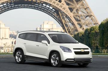Meer details en foto's Chevrolet Orlando