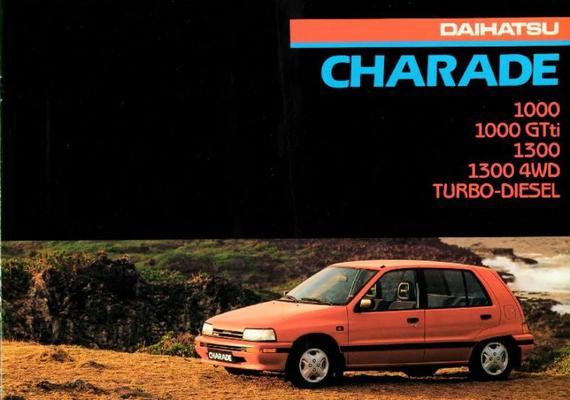 Daihatsu Charade Gti4wd,txf,ts